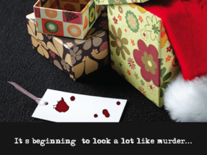 Mystery Theme:  It's Beginning to Look A Lot Like Murder
